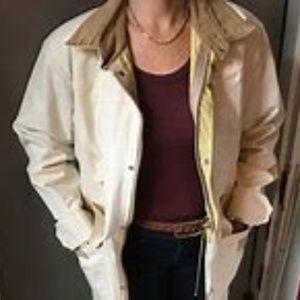 { J PETERMAN } Canvas Parka & car coat- LARGE